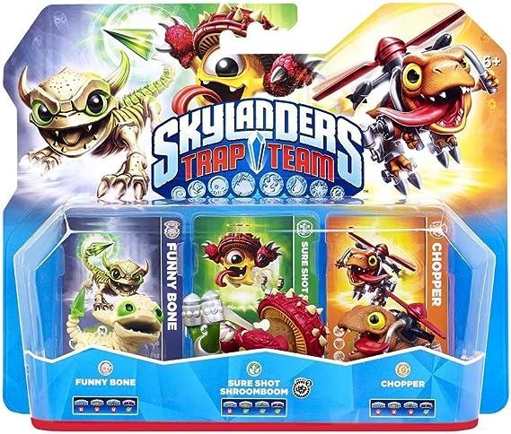 Skylanders: Trap Team - Triple Pack 1 (Chopper, Funny Bone ...