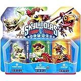 Figurine Skylanders : Trap Team - Chopper + Funny Bone + Shroomboom