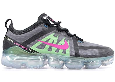 3ac99e95a6 Nike Air Vapormax 2019 Mens Roading Running Shoes (8.5, Black/Active  Fuchsia/