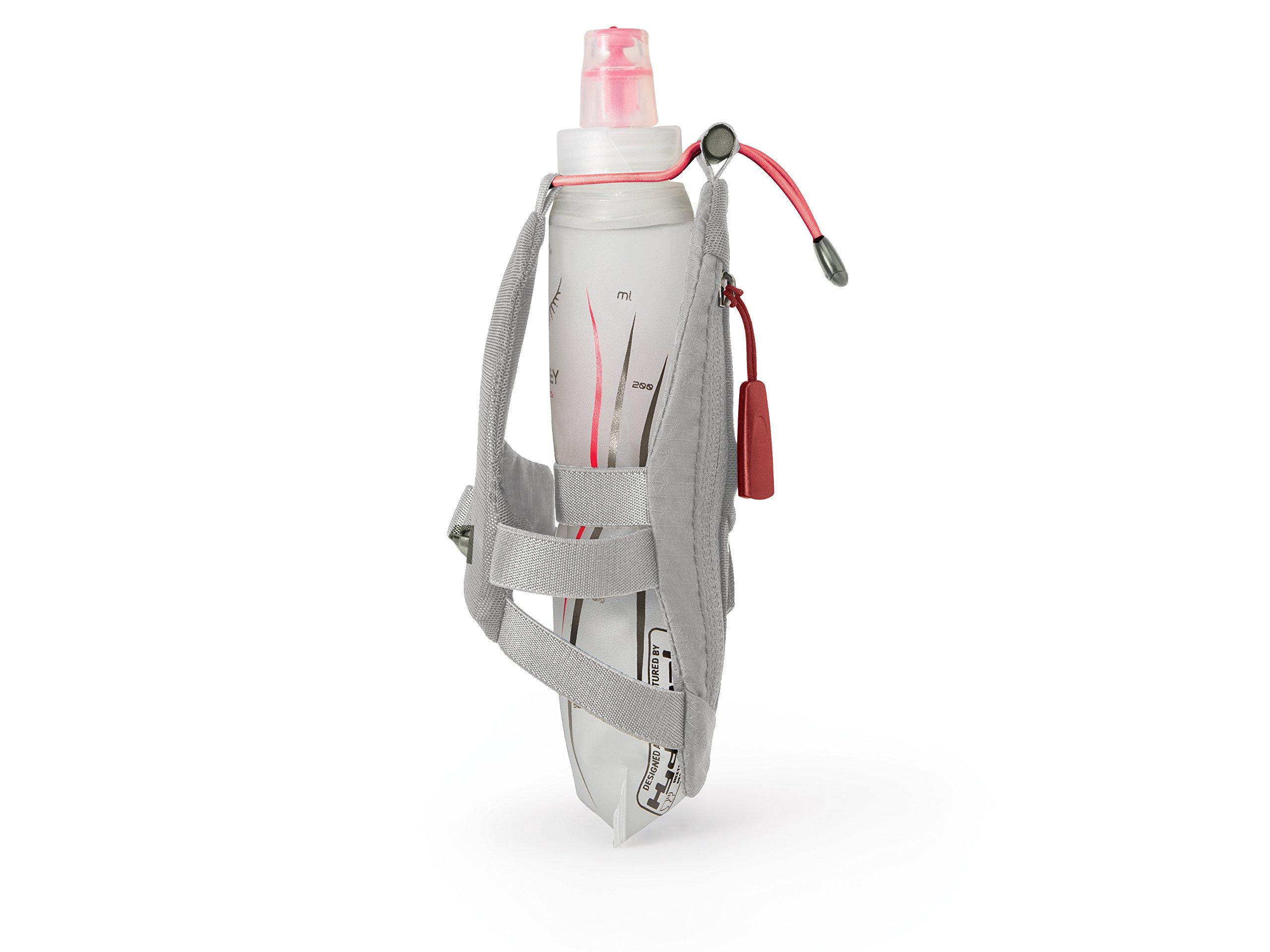Osprey Packs Dyna Handheld Hydration Bottle, Silver Spark
