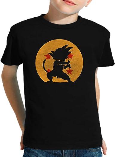 The Fan Tee Camiseta de NIÑOS Dragon Ball Goku Vegeta Bolas de Dragon Super Saiyan 074: Amazon.es: Ropa y accesorios