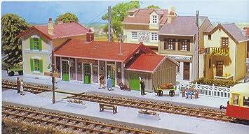 Hornby France MK510 - Maqueta de estación de tren de Fay ...