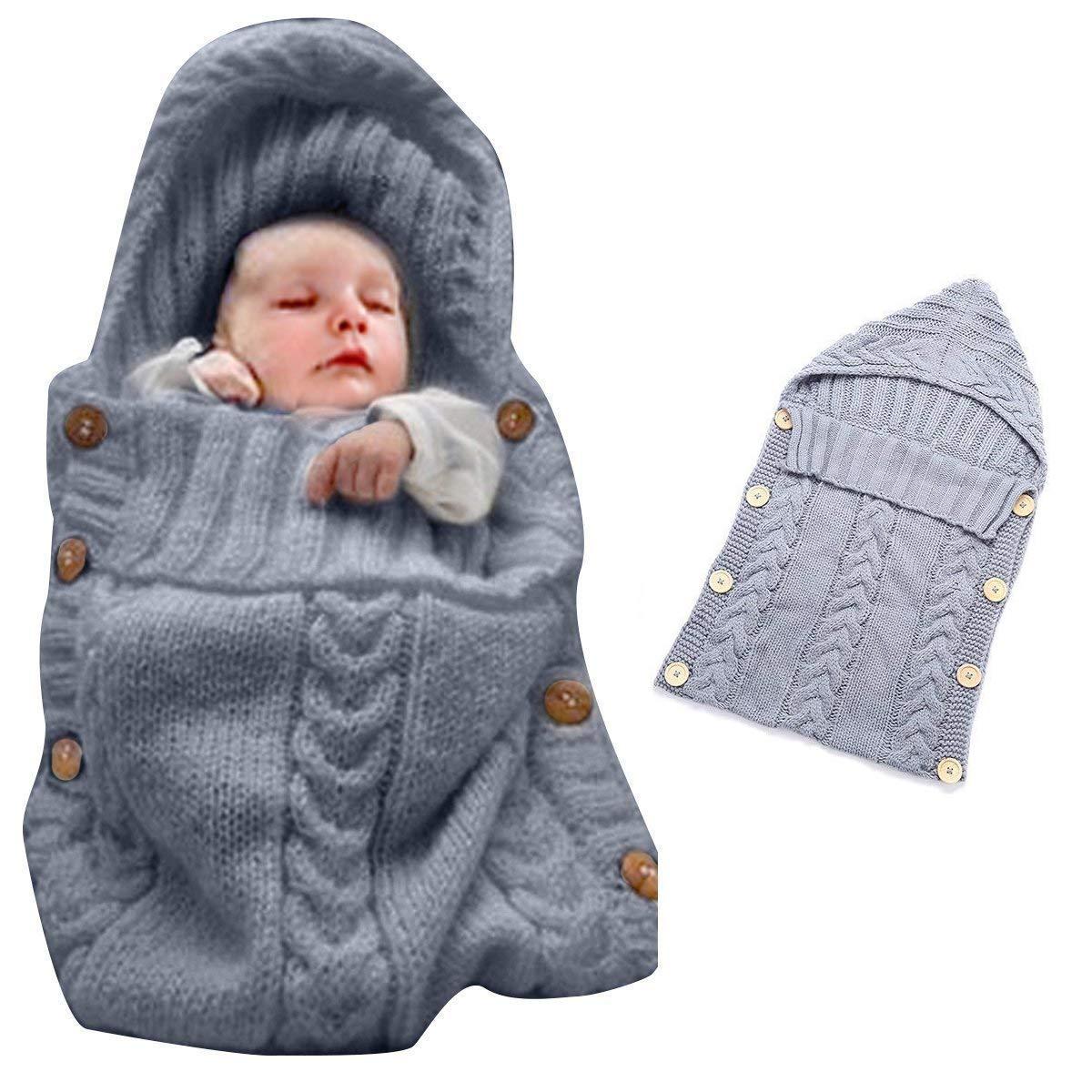 a96f868ec6ab Amazon.com  Colorful Newborn Baby Wrap Swaddle Blanket