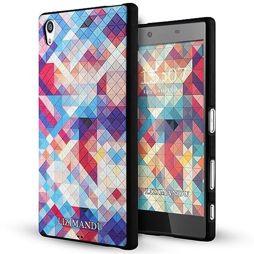 4 opinioni per Xperia Z5 Premium Cover,Lizimandu Creative 3D Schema UltraSlim TPU Copertura