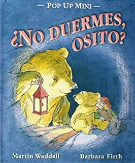 ¿No duermes osito? Pop-up mini (Spanish Edition)