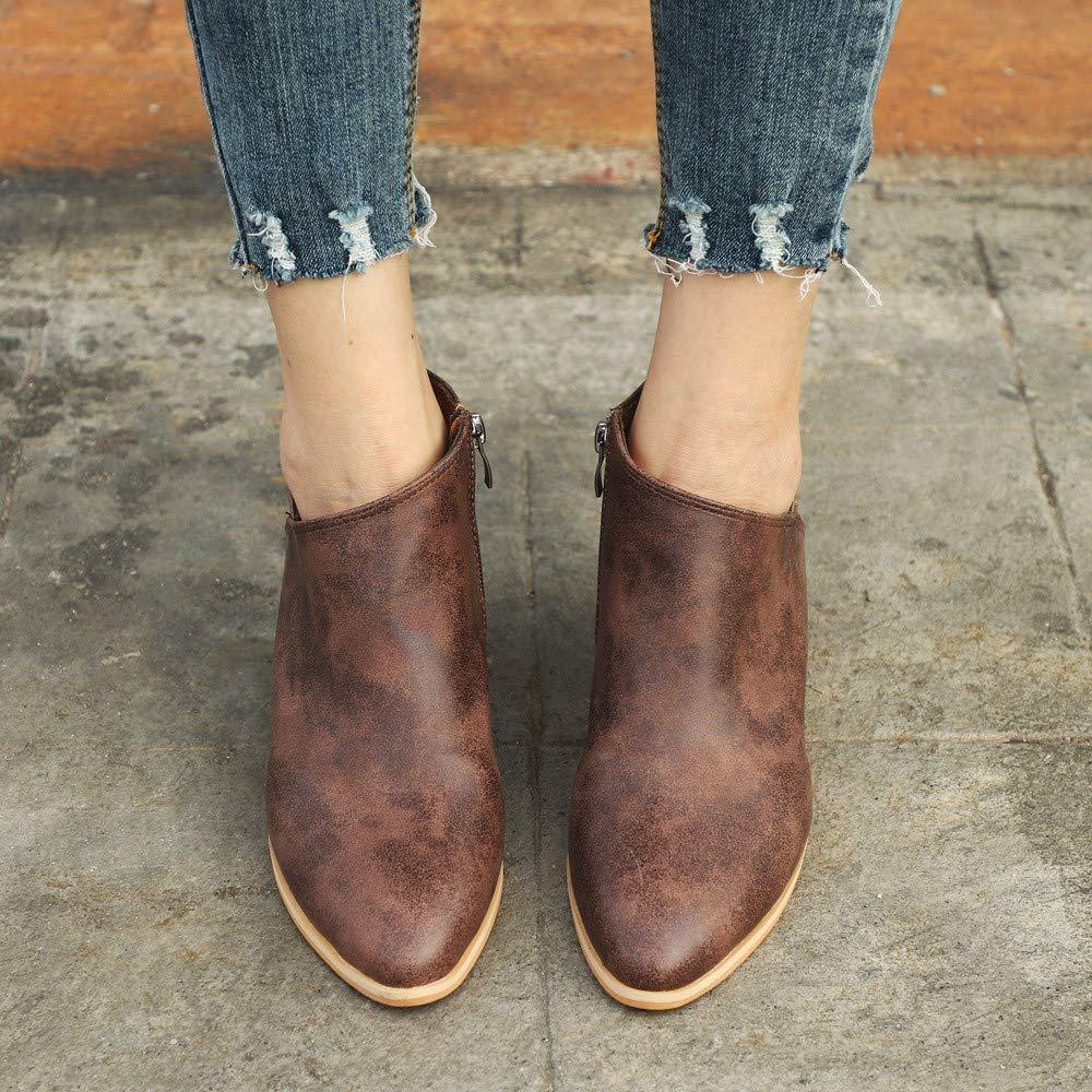 Amazon.com: Ninasill Clearance - Botas de tobillo para mujer ...