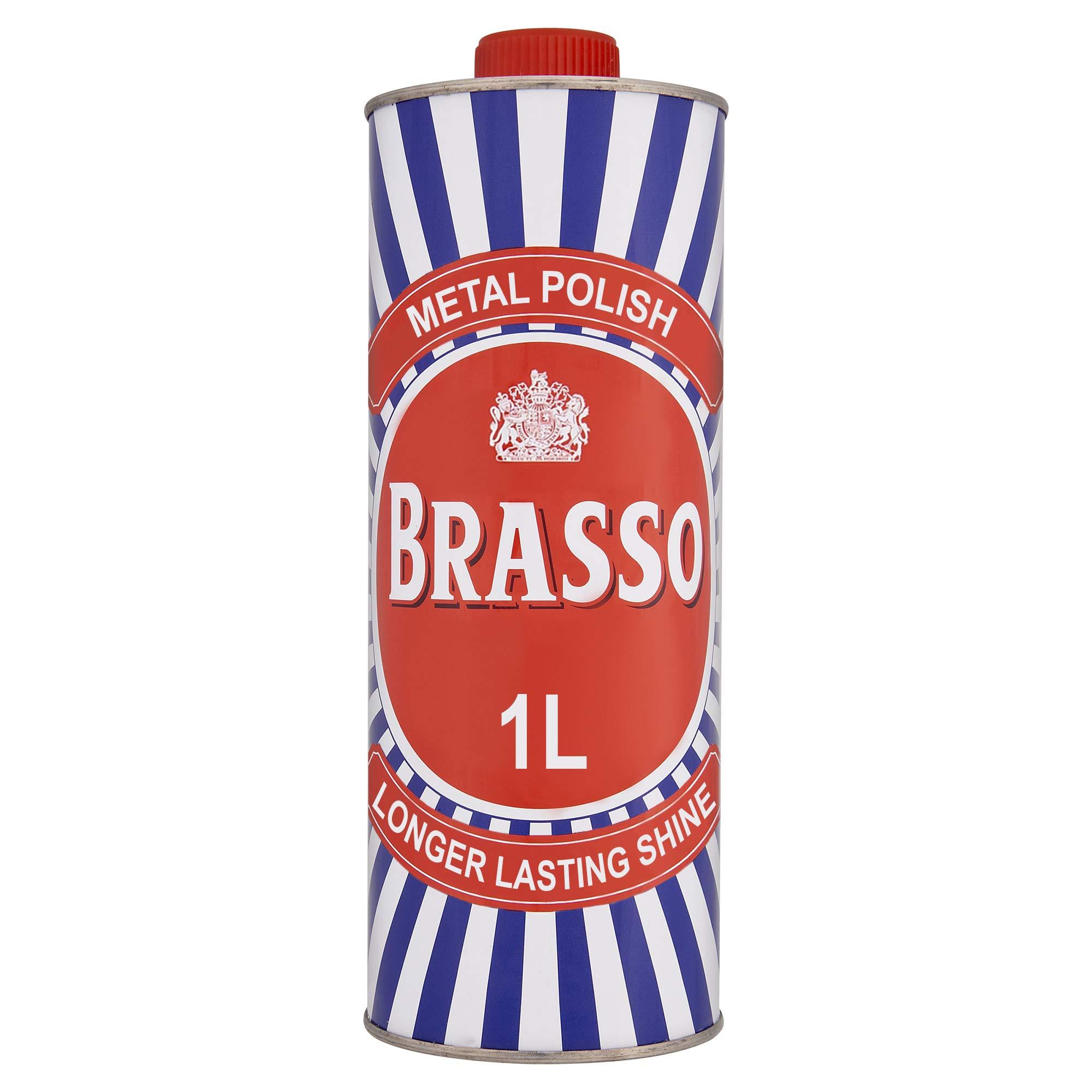 Brasso Metal Polish Liquid, 1L