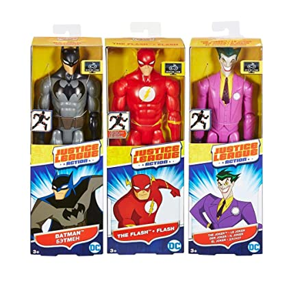 Amazon.com: Justice League Action 12 Inch Figure Assortment ...
