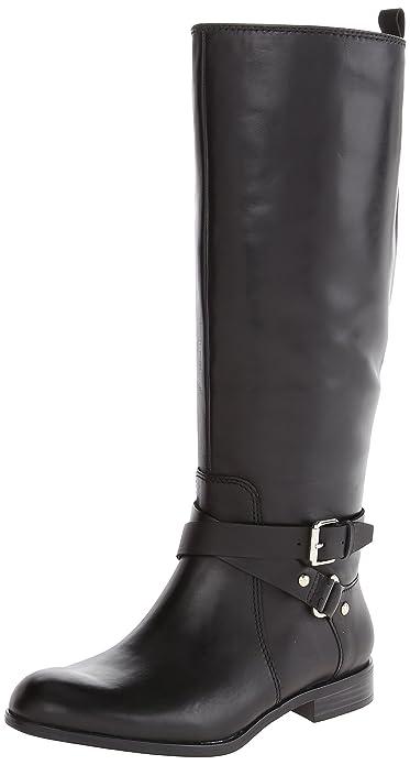 Amazon.com | Enzo Angiolini Women's Daniana Riding Boot | Knee-High
