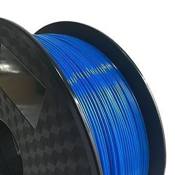 Filamento de policarbonato azul de 1,75 mm para impresora 3D (azul ...