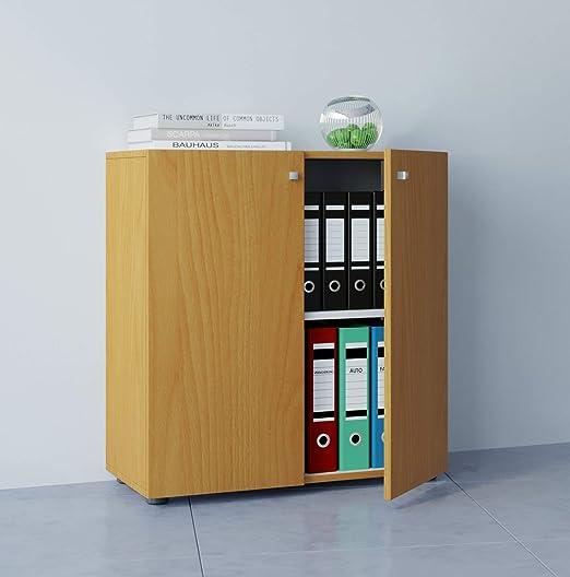 VCM Vandol Mini Mueble de Oficina Carpeta, Madera, Haya, 70 x 70 x 39 cm: Amazon.es: Hogar