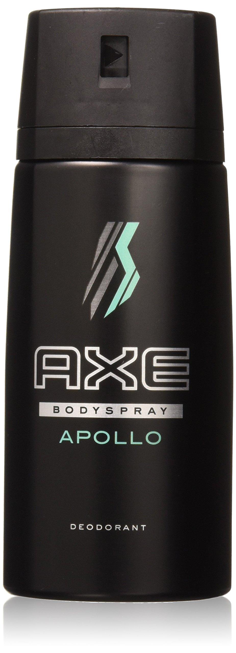 AXE Body Spray for Men, Apollo 4 oz (4 oz (Pack of 6), Apollo)