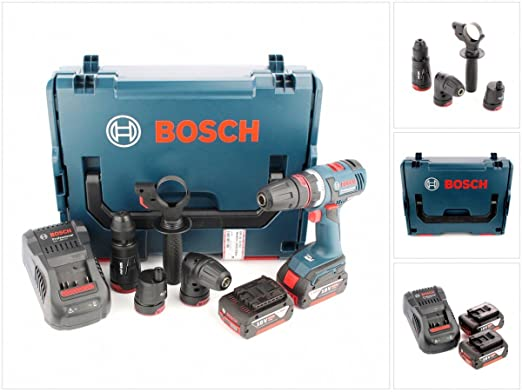 Bosch GSR 18 V-EC FC2 batería taladro en L-Boxx con gal 1880 ...