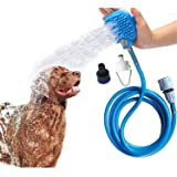 Pet Bathing Tools Pet Shower Kit 3 in 1 Adjustable Handheld Massage Shower Sprayer For Dogs Cats