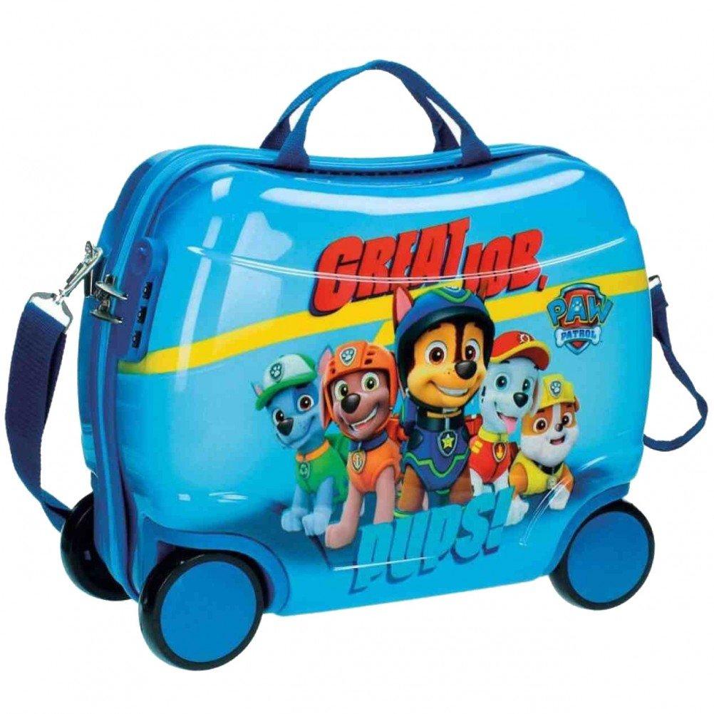 Paw Patrol 2671051 Sitzkoffer Kindergepäck, 27.88 Liter, Blau