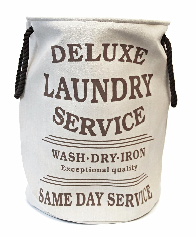 Bada Bing Wäschesack Wäschekorb Deluxe Laundry Style Vintage (beige ...
