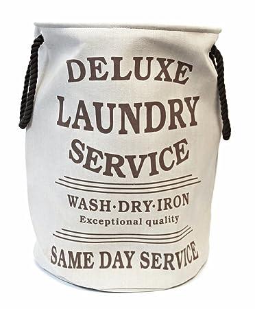 Wäschekorb Vintage bada wäschesack wäschekorb deluxe laundry style vintage beige
