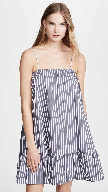 ATM Anthony Thomas Melillo Womens Cotton Poplin Stripe Tent Dress