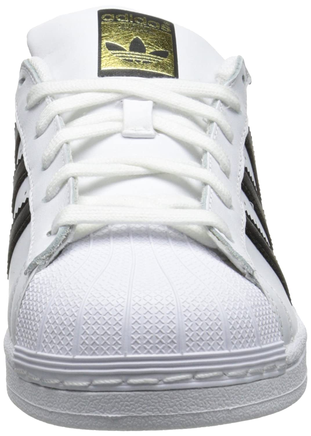 Amazon.com | adidas Originals Women's Superstar Shoes, White/Black/White, (8.5 M US) in FCR | Fashion Sneakers