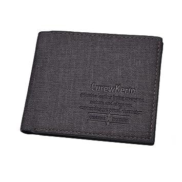 Carte Black Cmb.Squarex Portefeuille Cuir Synthetique Homme Poche Carte De Credit D