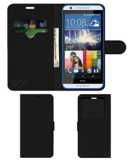 new product c3b12 f902c Acm Leather Window Flip Wallet Front & Back Case: Amazon.in: Electronics