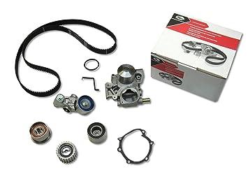 Gates 06 - 08 Subaru Forester 2.5L H4 SOHC Motor Kit de Correa dentada bomba de agua: Amazon.es: Coche y moto