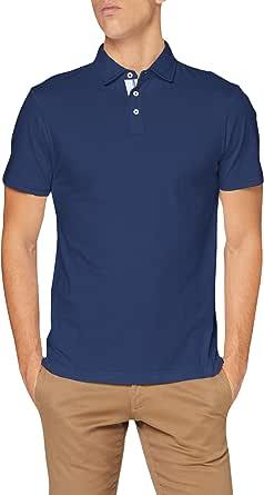 Hackett London Selvedge Trim JSY SS Camisa para Hombre