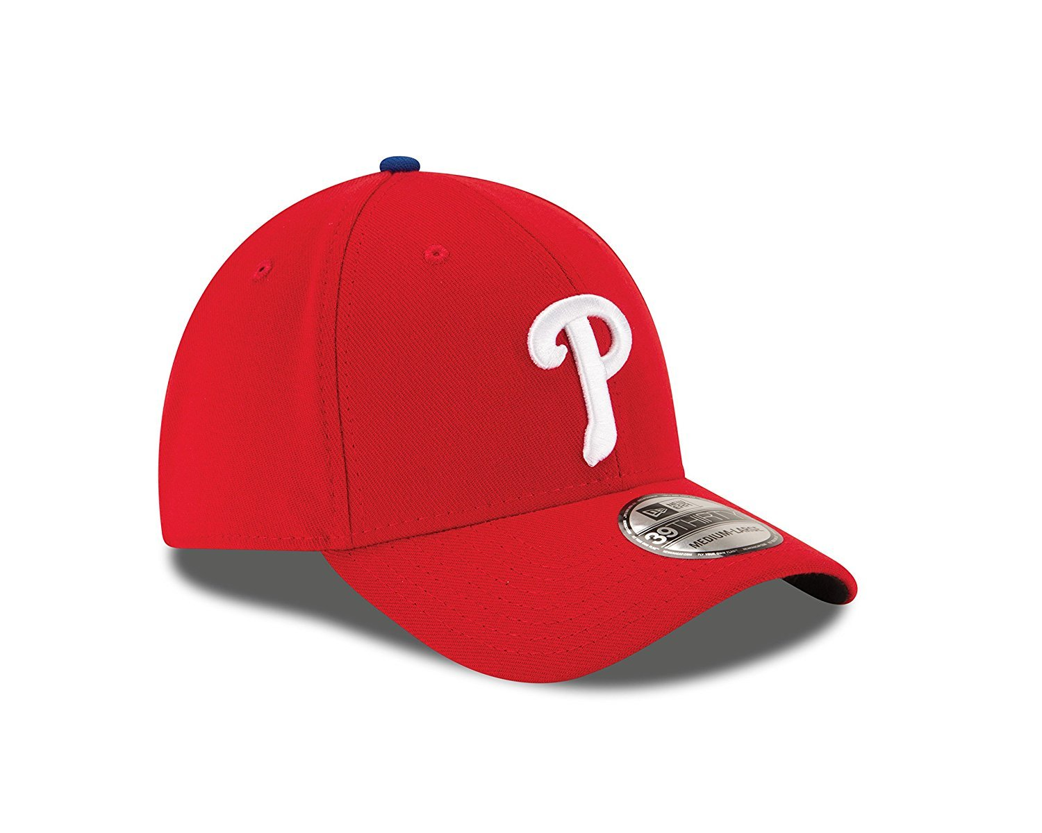 New Era MLB Philadelphia Phillies Team Classic Game 39Thirty Stretch Fit Cap, Red, Small/Medium