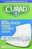 Curad Small Non-Stick Pads 2 x 3 in 20 ea