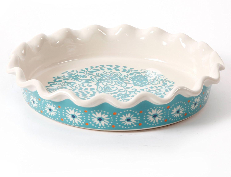 The Pioneer Woman 9 Inch Stoneware Pie Dish (1)  sc 1 st  Amazon.com & Amazon.com: Pie Tart u0026 Quiche Pans: Home u0026 Kitchen: Pie Pans Tart ...