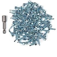 neverrest - 100x 4,2 x 16 mm Acero