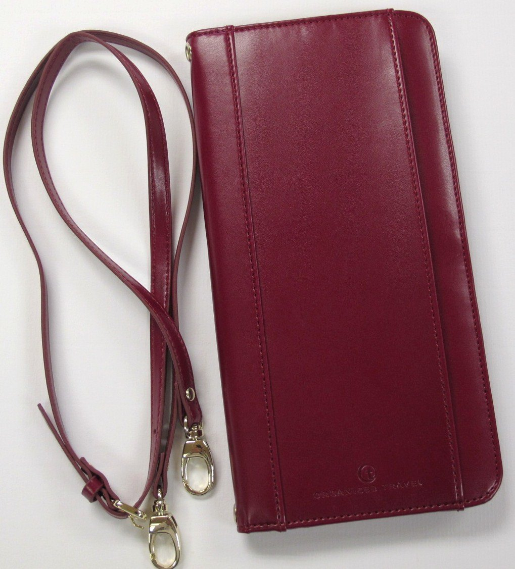 Travel Neck Wallet, PW1401 (Red)