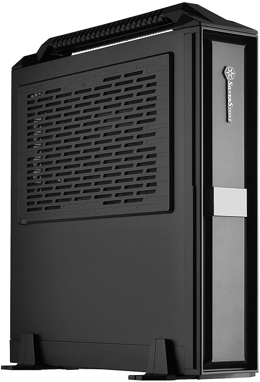 SilverStone Technology Mini-ITX Slim Small Form Factor Computer Case ML08B