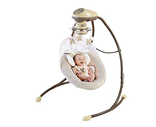 fisher-price my little snugapuppy cradle 'n swing reviews
