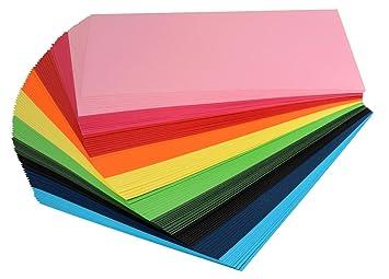 Vbs Tonpapier Tonkarton Din A4 Viele Farben 100 Blatt 120 Gqm
