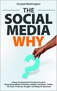 The Social Media WHY: A Busy Professional's Practical Guide to Using Social Media Including LinkedIn, Facebook, Twitter, YouTube, Pinterest, Google+ and Blogs for Business