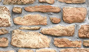 Fablon FAB10226 Stone Wall Adhesive Film