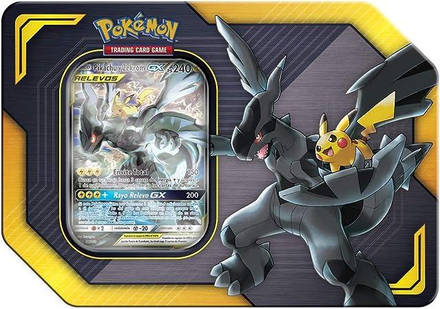 Pokemon JCC - Pikachu & Zekrom Tag Team (Asmodee, POGX19041): Amazon.es: Juguetes y juegos