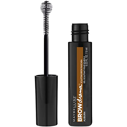 Maybelline New York Eyestudio Brow Drama Tinted Gel Mousse, Auburn, 0.23 Fluid Ounce by