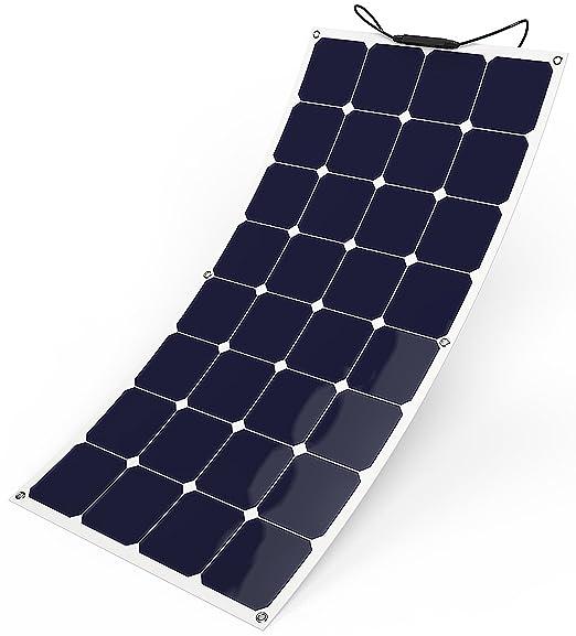 4 opinioni per GIARIDE 12V 18V 100W Pannello Solare Sunpower Cella Flessibile Portatile