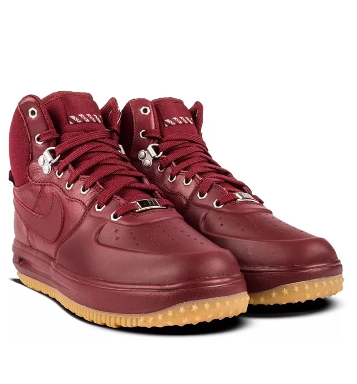 wholesale dealer 0a913 301c0 Amazon.com   Nike Lunar Force 1 Sneakerboot Team Red Team Red (GS) (7 M US  Big Kid)   Basketball