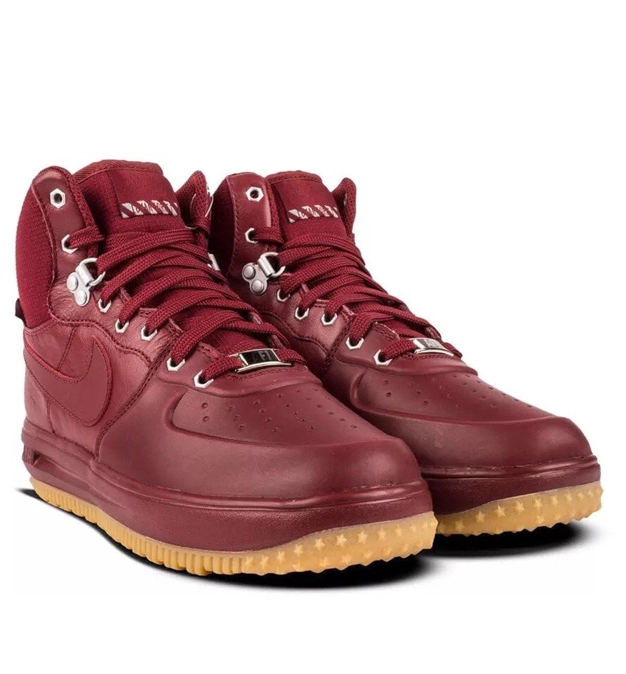 Nike Lunar Force 1 Sneakerboot Team RedTeam Red (GS) (7 M US Big Kid)
