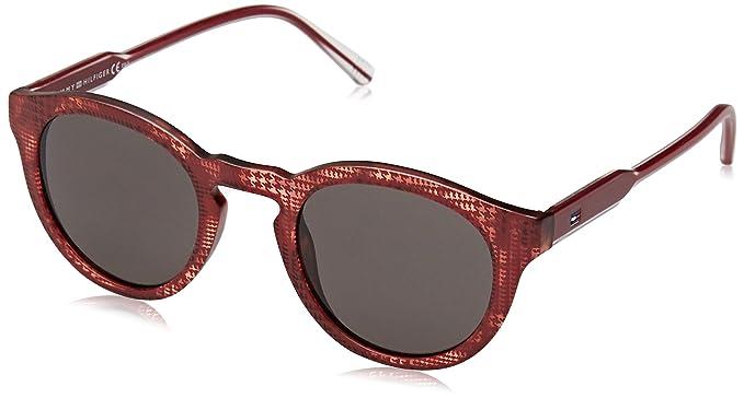 Tommy Hilfiger TH 1443/S NR, Gafas de Sol Unisex-Adulto, Mtburg
