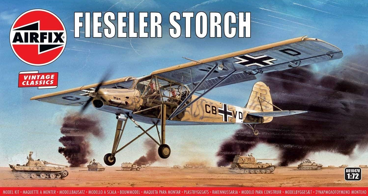 AIRFIX® Vintage Classics A01047V Fieseler Storch in 1:72