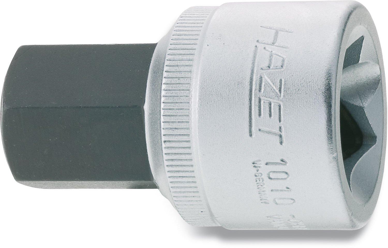 Hazet 1010-19 3/4-Inch 57 mm Hexagon Screwdriver Socket - Silver