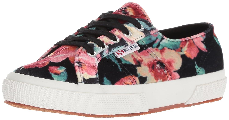 Superga Women's 2750 Fanvelw Sneaker B078K8TXGK 41 M US|Floral Multi
