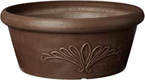 Arcadia Garden Products PSW TA20C Bulb Pan, 8 by 3-Inch, Chocolate