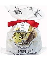 BORSARI 100% MADE IN ITALY PANETTONE Maestros Confiteros, Clásicos y Auténticos con Pasas Perfumadas