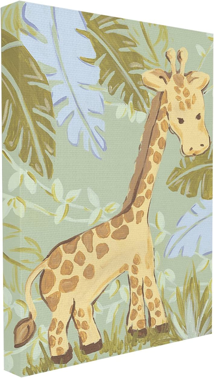 The Kids Room by Stupell Giraffe in The Jungle Wall Plaque, 24 x 30