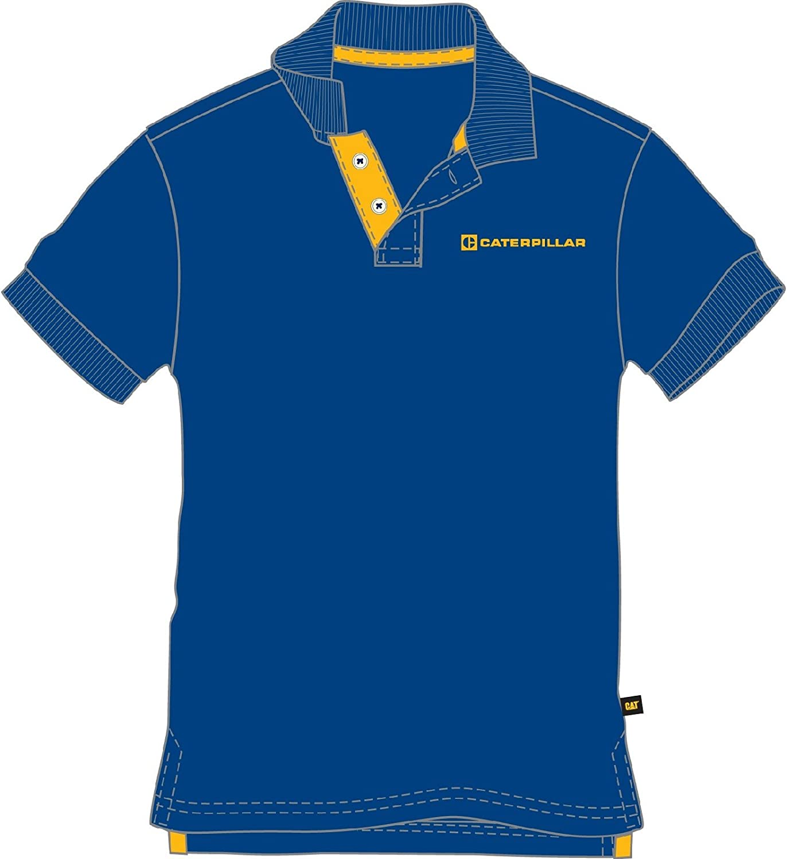 Caterpillar Mens Code Cotton Polo Shirt Navy: Amazon.es: Ropa y ...
